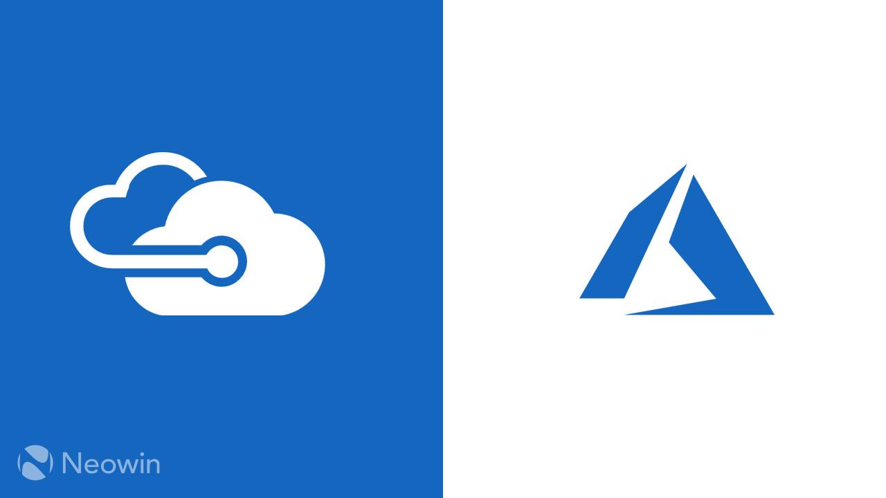 A New Azure Logo Cloud Astronaut